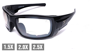 Fuglies BF13 AS/NZS1337 Clear Bifocal Safety Glasses