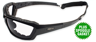 Fuglies RX14 AS/NZS1337 Clear Safety Glasses