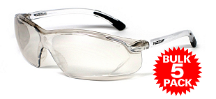 UV Wraps JF623 AS/NZS1337 Clear Safety Glasses