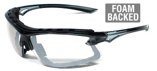 UV Wraps 8256 AS/NZS1337 Clear Safety Glasses