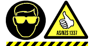 AS/NZS1337 Safety Rated